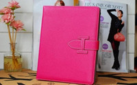 Wholesale For Apple ipad Mini Book Folio Leather Case Stand Cover SmartCover Pouch