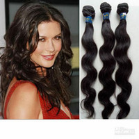 Wholesale Promotion quot quot Body wave Indian Virgin Remy Hair Weave g pc piece off Discount