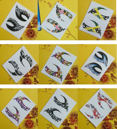 Wholesale Hot Selling Models Eyeliner Paste Eye Sticker Painted Eye Shadow Eye Liner Stickers Pairs