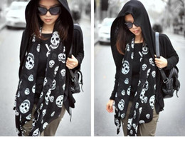 Wholesale hot sell new Crown skull and crossbones pattern long scarf female scarf