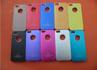 Metal air jacket cases - Plating Metal Surface Ultrathin Aluminum Air Jacket A5 Case Cover for Iphone5 iphone