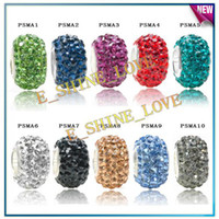 Wholesale Lose Money Sale Single Core AAA crystal Balls For Pandora Colors Options PSMAmix1