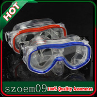 Wholesale New Panoramic Snorkeling Silicone Wide Face Scuba Dive Swim Swimming Diving Mask