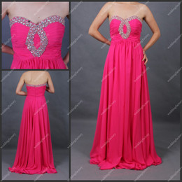 Wholesale Floor Length Chiffon Beaded Sweetheart Ruffled A Line Dresses for Bridesmaids Evening Dresses