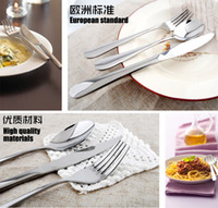 Other ECO Friendly  Steak Knife Fork Top Grade Stainless Steel Tablespoon Fruit Fork Spoon Western Dishes Tableware
