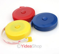 Wholesale 6pcs Mixed Nice New quot m Sewing Tailor Retractable Spring Tape Measure Free Ship