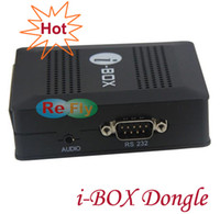 Wholesale i BOX Dongle Satellite Smart i box RS232 DVB S Sharing i box South America STB033 Singapore post