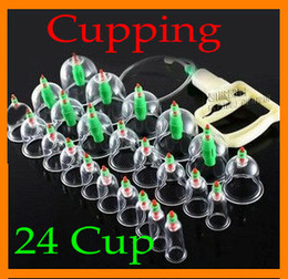 Wholesale Chinese Medical Body Cupping Set Kit Health Massage Acupuncture Suction Pump Connector Tube