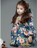 Wholesale Winter Year baby children clothing shivering thicken girls outwear children coat kids overcoat