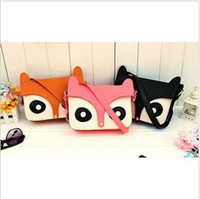 Wholesale Girl fashion Retro Cute Shoulder Bag Naughty Little Fox Bag Fashion Multifunction Handbag