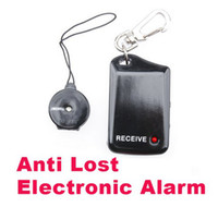 Wholesale Wireless Personal Reminder Wireless Pet Bag Alarm Black