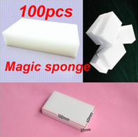 Wholesale 100Pcs multi functional Melamine Cleaner Magic Sponge for Cleaning x60x20mm
