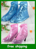 Wholesale Practical non slip rain shoe covers boot Rain waterproof wellies Adults children gifts