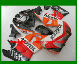 REPSOL ABS fairing kit for HONDA CBR900RR 919 1998 1999 CBR900 919RR CBR919 98 99 CBR919RR body repair fairings set