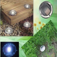 Wholesale Sample Solar powered Led light Underground IP68 Energy Saving Lamp Several colors