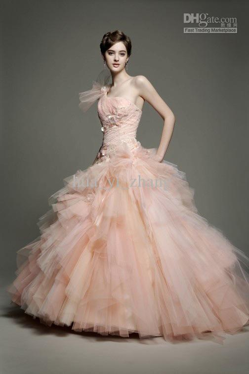 cheap tulle wedding dress discount custom made fashion style wedding dress
