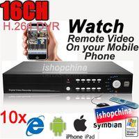 Wholesale 10sets CH H Surveillance CCTV Standalone Real time DVR Digital Video Recorder AT H EMS DHL