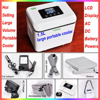 Wholesale Latest AC DC Batteries Powered F Pharmacy Travel Refrigerators Vaccine and Blood Move Coolers