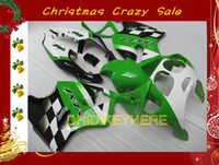 Green moto race fairing for KAWASAKI Ninja ZX7R 1996- 2003 ZX...