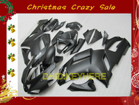 Wholesale Custom fullset matte black moto ABS fairing for KAWASAKI Ninja ZX6R ZX R bodykits