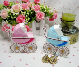 Wholesale Wedding Favor Box Bomboniere Baby Shower Baby Day Out Candy Boxes