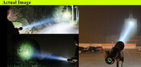 Wholesale HID M authentication NEW quality powerful W HID XENON FLASHLIGHT SPOTLIGHT with mAH fast ship