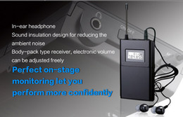 Wholesale TAKSTAR WPM single receiving including earphone Professional Wireless Monitor System receiver