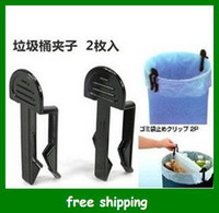 Wholesale Popular trash clip plastic Garbage Multi function bucket clips Household goods gifts