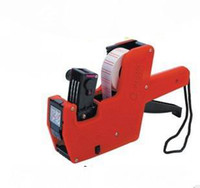 Wholesale Tracking number High Quality Piece New Price Labeller Digits Label Gun MX