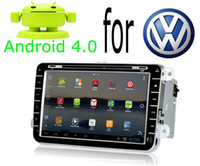 Wholesale Android Car DVD PC with GPS and G WIFI Internet for VW GOLF POLO PASSAT TOURAN TIGUAN EOS JETTA