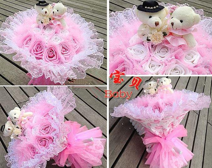 Wholesale Animal Decoration - Buy 15% Off!Cute Cartoon Bouquet