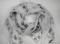 Wholesale 2013 New Arrival Fashion Skull Scarves Shawls Xmas Gift Best Selling