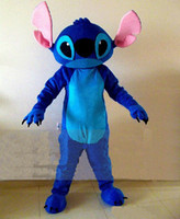 Unisex custom acrylic - Stitch Mascot lilo and Stitch Cartoon Character Costumes Fancy Dress Adult Size Customized Mascot