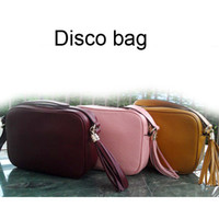 Wholesale Top Lady fashion genuine leather soho disco shoulder bag handbag