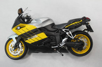 Wholesale BMW K1200S Motorcycle models Motobike Models Toy models Children s gift toy Yellow Black