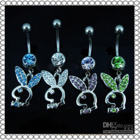 Wholesale Fantastic Belly Button Navel Ring Body Piercing Jewelry Dangle Accessory Fashion Charm Playboy
