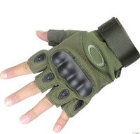 Wholesale 1 pair Outdoor Sports Fingerless Tactical Airsoft Hunting Cycling Bike Gloves
