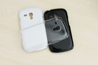 Wholesale New Snap On Ultra Thin Hard Crystal Clear Transparent plastic Case for Samsung Galaxy S3 i9300 Mini