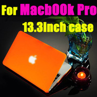 13'' sleeve PVC Matte Crystal laptop flip protect cover case for Apple Macbook Air 11 13 inch freeship