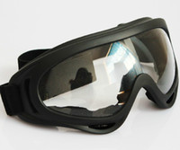 Wholesale 1pcs Hunting Airsoft X400 Wind Dust Protection Tactical Goggle Motorcycle Glasses Transparent