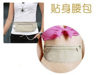 Wholesale Invisible waist bag money bag Good quality Belt Bag Security Wallet Belt bag