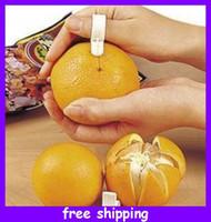 Wholesale portable Orange peel device fruit peeling helper convenient and practical to open orange ring type