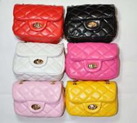 Wholesale Children Shoulder Bag Girls Oblique Satchel Kid Leather Bag Girls Satchel Bag Kids Fashion Casual Bags