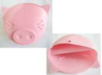 Wholesale Microwave Oven Mitts Pig Design Kitchen Convenient Insulated Glove