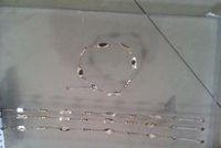 Wholesale leaf anklet Copper k gold plated anklet Fashion anklet jewelry