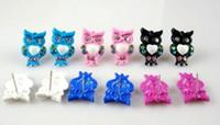 Wholesale XMS Jewlry Owl Earring diamond earring Fashion Jewelry ladies Earring MG2
