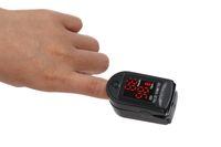Wholesale CE FDA approved New Fingertip Pulse Oximeter Oxygen monitor Black color