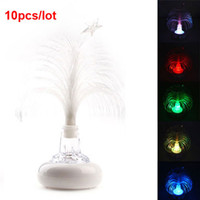 Floral No No USB Multi Color Changing Christmas Tree LED Light for Laptop 10pcs lot