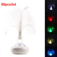 Floral No No Hot Sale USB Multi Color Changing Christmas Tree LED Light for Laptop 50pcs lot