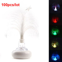 Floral No No Newest USB Multi Color Changing Christmas Tree LED Light for Laptop 100pcs lot